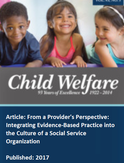 the welfare of the child Law has looked to 'child welfare science' for guidance on what is likely to promote children's welfare, and this of course has been subject to change over time.